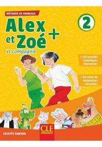Alex et Zoe plus 2 podręcznik z CD MP3