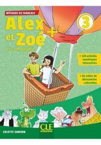 Alex et Zoe plus 3 podręcznik z CD MP3