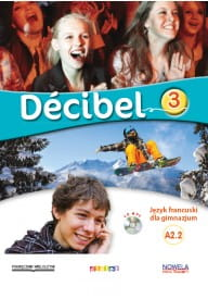 Decibel 3 podręcznik + CD MP3 + DVD